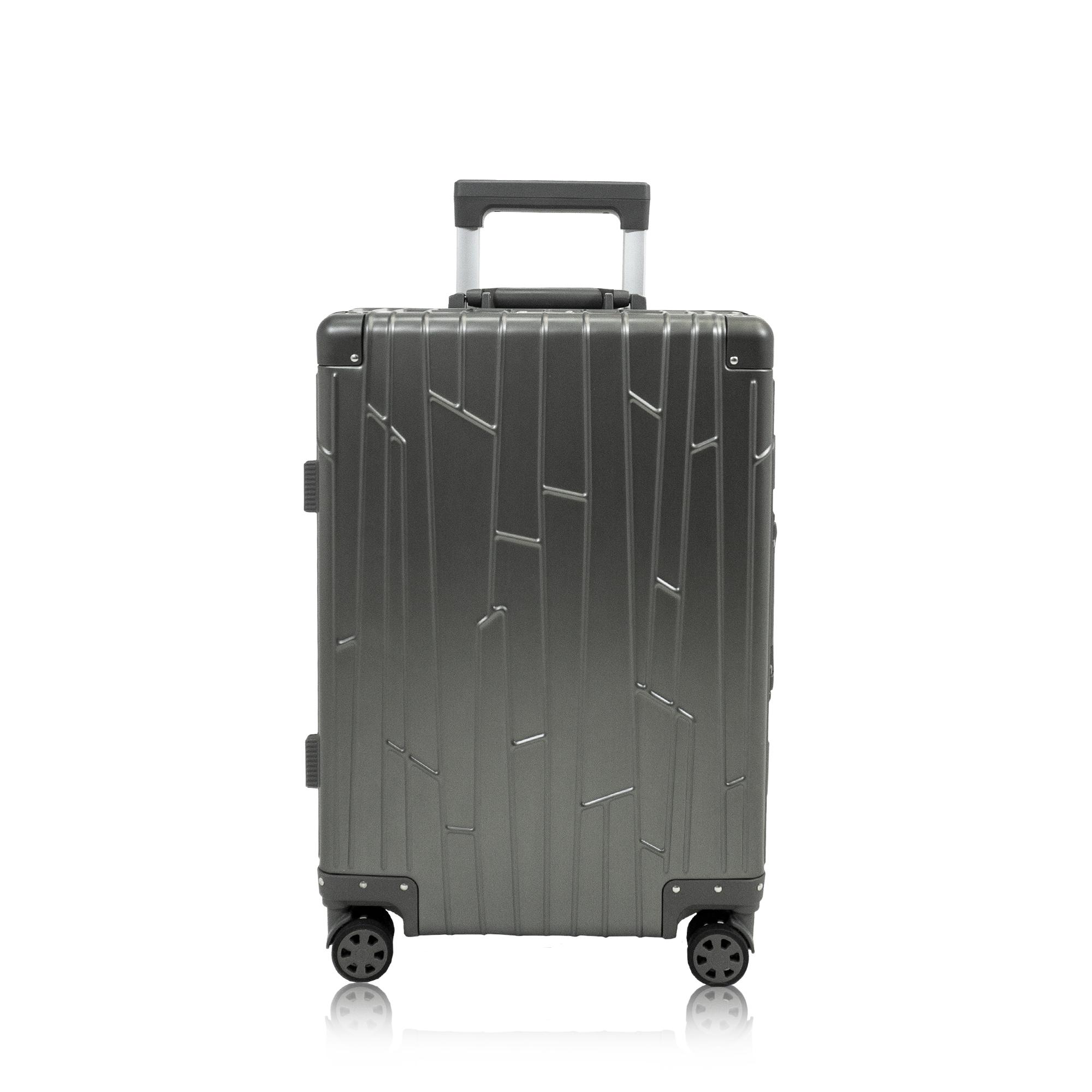 Cabin Trolley KOH-001G space grey aluminium suitcase gundel cabin luggage tsa-locks